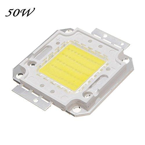 Foxpic High Power 50W LED Chip Birne Licht Lampe DIY Weiß 3800LM 6500K