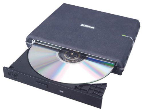 BUSlink 24x Slimline External USB 2.0 CD-ROM Drive
