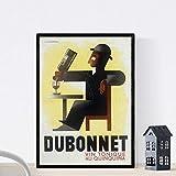 Nacnic Vintage Poster Annuncio Vintage Dubo Dubon Dubonnet del 1932 A3 Size...