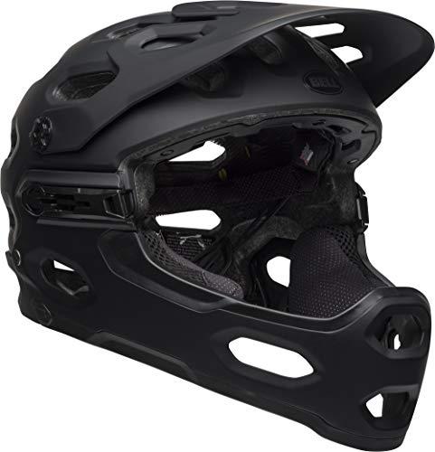BELL Unisex's Super 3R MIPS MTB Helmet, Matte Black, Large/58-62 cm