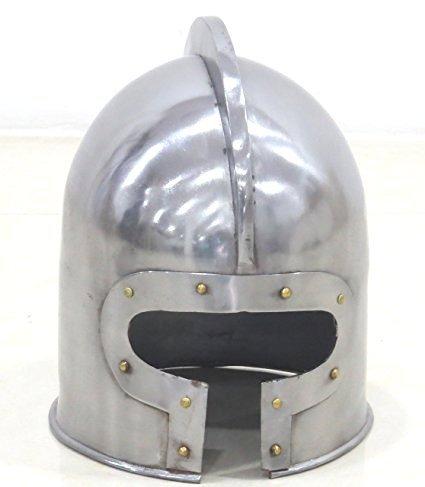 NAUTICALMART T Face Barbuta Casco Larp Reincorporación Medieval Armónica