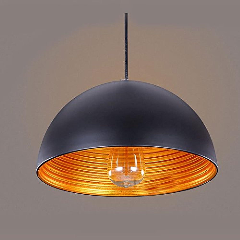 Wanson Kronleuchter Moderne Pendelleuchte Restaurant Wohnzimmer Lichtarmaturen Cafe Bar Deckenlampe Aluminiumdeckel Schwarz Lichter E27 30  20Cm Lampe