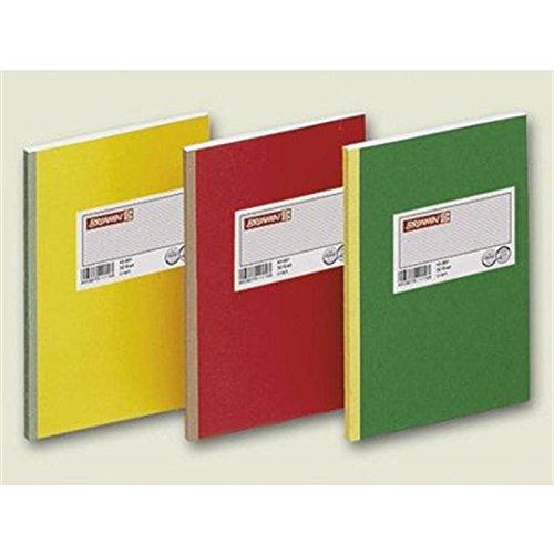 Baier & Schneider Geschäftsbuch, Deckenband, grau, liniert, A4, 210 x 297 mm, 144