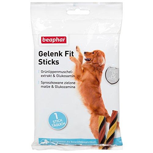 Gelenk Fit Sticks Köstliche Hunde Leckerlies, Unterstützt Beweglichkeit von Hunde-Gelenken (3 x 7) 21 Stück