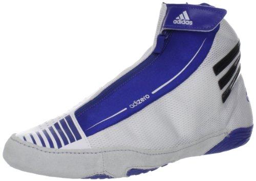 adidas Wrestling Men's Adizero Sydney-M, Running White/Black/Royal, 15 M US