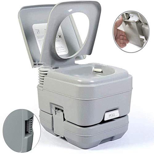 YOGANHJAT Campingtoilette Starter-Set 10 Liter Tank Set Toiletteneimer Reise Toilette Sport Abnehmbar Toilette Toilet für Wohnmobil Wohnwagen Caravan