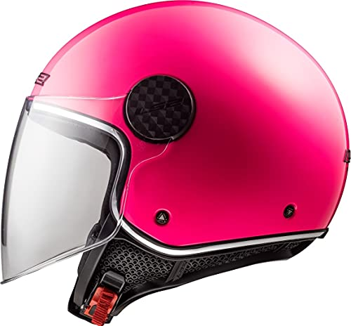 casco scooter xs donna LS2 Casco moto OF558 SPHERE LUX Pink