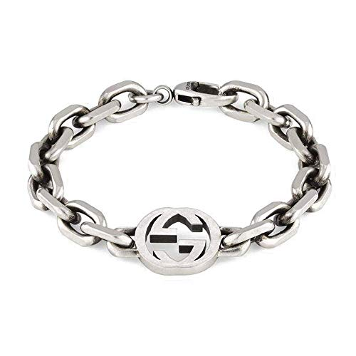 Gucci Pulsera G entrelazada 7.1' YBA627068001018