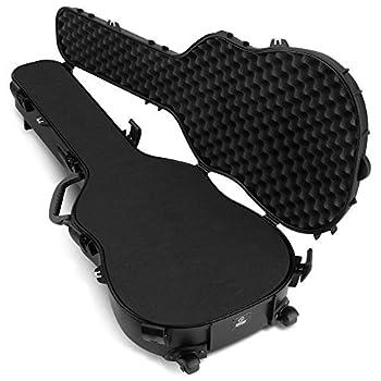 Savior Equipment Tactical Discreet Rifle Carbine Shotgun Pistol Gun Carrier Ultimate Guitar Case - Fit Up to 45  Firearm Concealed Carry Lockable Design