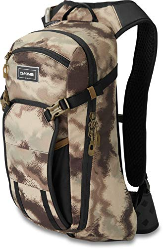 Dakine Drafter 10L Hydration Pack - Ash Camouflage/ 3 Litre Hydrapak Lumbar Low Ride Waist Reservoir Bladder Water Tank Hydrate Backpack Rucksack Bag Trail Enduro Mountain Bike Cycling Cycle Ride