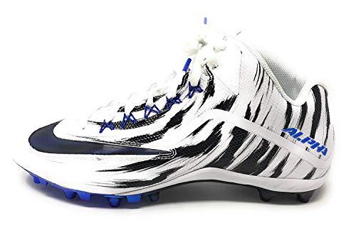 Nike Men's Alpha Pro 2 3/4 TD LE 2.0 Style 820280 White/Racer Blue 13