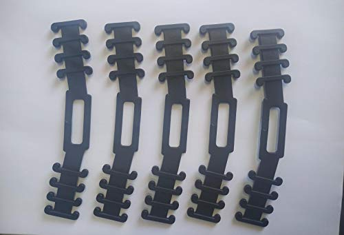 Protector Salvaorejas para Mascarillas Color Negro 5 Unidades Orejas Flexible