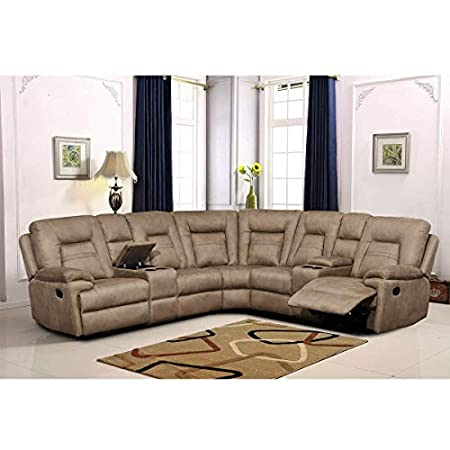 Betsy Furniture Large Microfiber Reclining