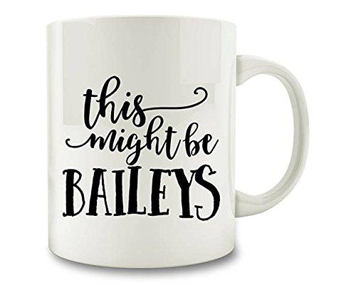 Dit kan Baileys koffie mok thee Cup 11 oz koffiemok