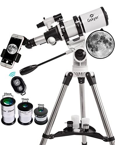 Gskyer Telescope, Telescopes for Adults, 80mm AZ Space...