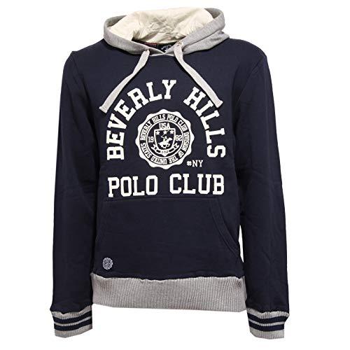 Beverly Hills Polo Club 5775K Felpa uomo Vintage Sweatshirt Man [M]