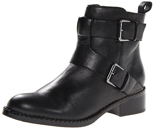 Gentle Souls by Kenneth Cole Women's Best Of Moto Boot, Black Leather, 7 M US