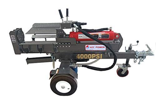 HZC Power 40 Tonnen Holzsplitter Holzspalter Holz Spalter Brennholzspalter Tisch liegend stehend HS40285