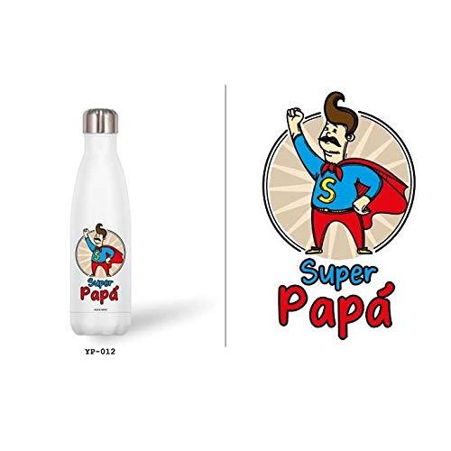 Roymart Botella Acero Inoxidable Thermo Funcion Super Papa 500ml.