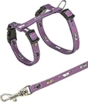 Various colours With snap buckles Continuously adjustable tape leash Includes clasp buckles