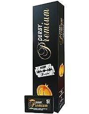 DERBY TOKAI Premium Rakblad med dubbla kanter, Paket med 100