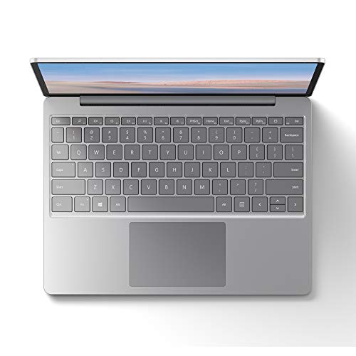 "Microsoft Surface Laptop Go 12.45"" i5 128 GB, 8 GB, Grigio (Platino)"