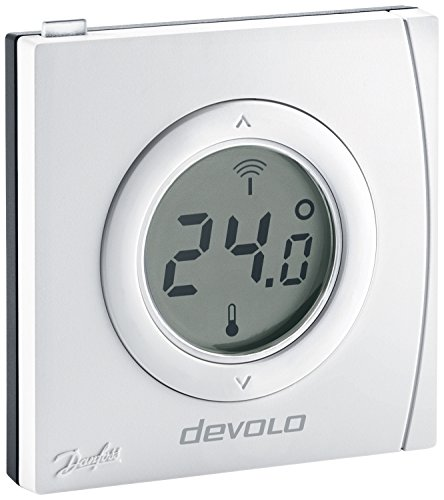 Preisvergleich Produktbild devolo Smart Home,  Home Control Raumthermostat,  Funk Thermostat,  Heizungssteuerung,  Z-Wave Hausautomation,  Haussteuerung per iOS / Android App