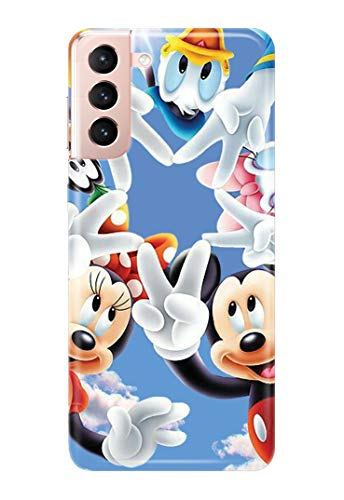 Case Me Up Handy Hülle für Samsung Galaxy S21 Mickey Mouse Sweet Disney Cute 20 Designs