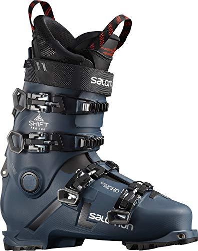 Salomon Shift Pro 100 at Mens Ski Boots Petrol Blue/Black/Silver Sz 9/9.5 (27/27.5) -  L41167900