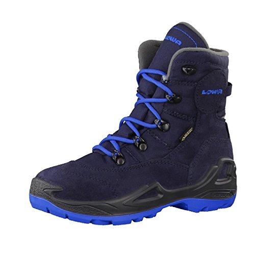 Lowa Unisex-Kinder Rufus III GTX HI JR Trekking- & Wanderhalbschuhe, Blau (Navy/blau_Navy/Blue), 36 EU