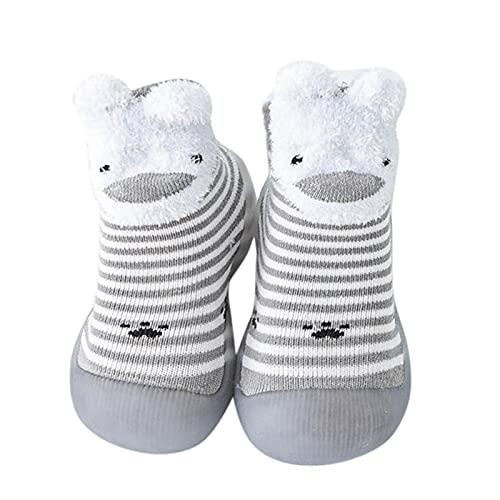 Streifen Sockenschuhe Baby Kinderschuhe Junge Lauflernschuhe Mädchen Bodensocken Rutschfest Babyschuhe Weicher Boden Kleinkind Schuhe Indoor Atmungsaktiv Kinder Schuhe