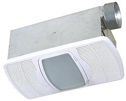 EXHAUST BATH FAN HEATER NIGHT LIGHT Air Vent Bathroom Ventilation Ceiling Mount