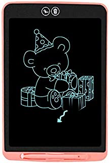 BNEW-12 Inch Children Electronic LCD Hand Writing Tablet Drawing Painting Board Support Partial Erasure and Safety Lock Fu...