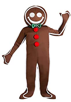 Child Iced Gingerbread Man Costume Medium