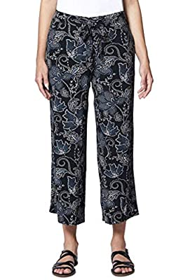 Sanctuary Calypso Wide Leg Crop Pants Wildflower 28