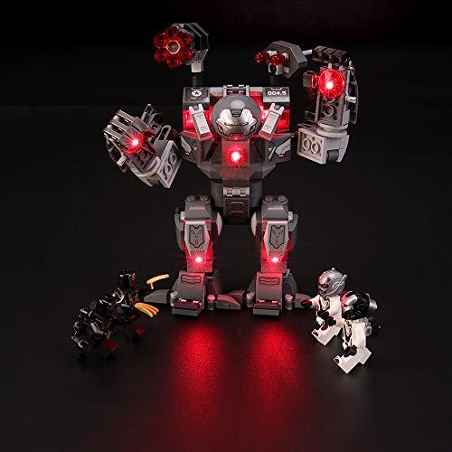 BRIKSMAX Led Lighting Kit for LEGO Marvel Avengers War Machine Action...
