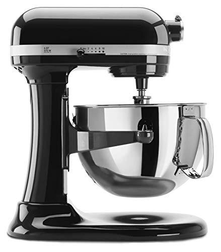 KitchenAid KP26M1XOB 6 Qt. Professional 600 Series Bowl-Lift Stand Mixer - Onyx Black