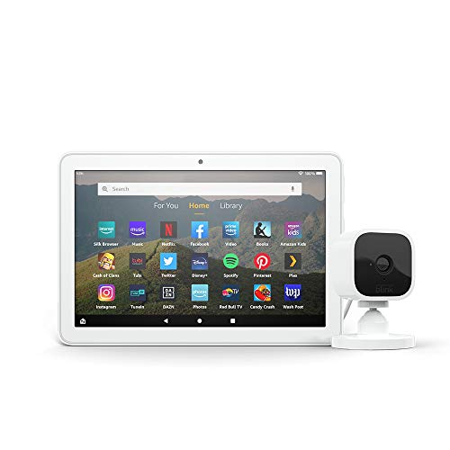 Save $49.99 on Fire Tablet HD 8 + Blink Mini Camera Bundle