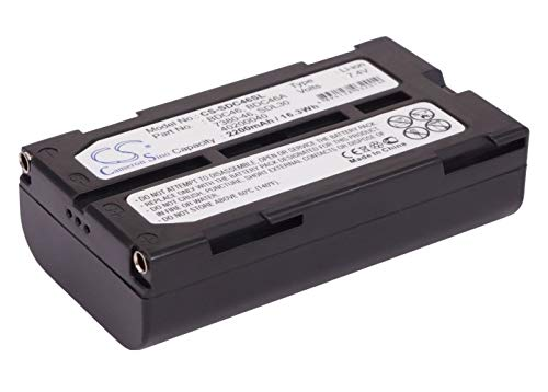 Battery Replacement for Sokkia SDL50 Set 200 Set 210 Set 210K Set 230R Set 230R3 Set Record -  RECORDCS-SDC46SL_116