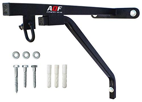 AQF Sacco da Boxe Supporto da Parete per Altamente Resistente in Acciaio Supporto Sospeso Box MMA