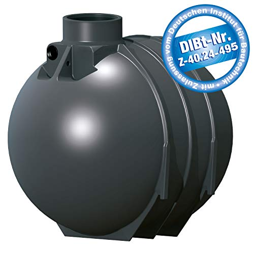 PREMIER TECH AQUA GmbH Abwassersammelgrube 5200 Liter Blackline II DIBt - Zulassung