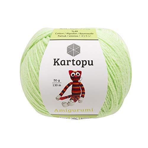 3.5 oz Yarn Weight: 3 : Light-Dk 100 g Kartopu Magic Puppy Knitting Yarn Kit 295 yd Yarn Length: 270 m 100/% Acrylic Brown