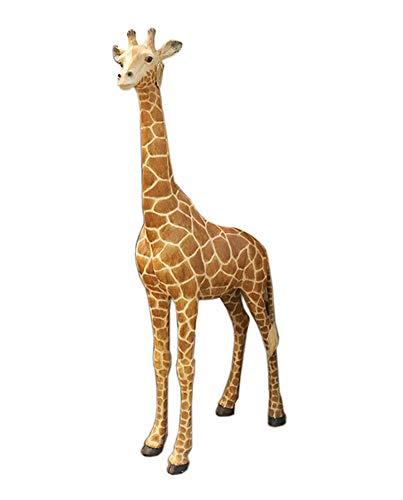 Zyh-hyz Giraffe Statua, Giardino Giraffe Scultura Animale di Grandi Dimensioni Ornamento da Giardino Simulation Wild Animal novità Ornamento