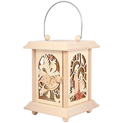 Holz-Teelichtständer Einfach anmalen oder bekleben und als Dekoration nutzen