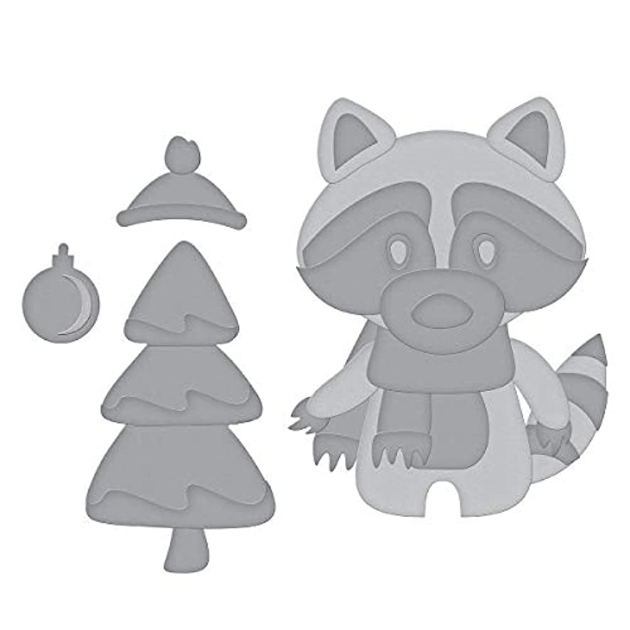 Spellbinders S3-377 Die D-Lites Christmas Bandit Etched/Wafer Thin Dies, Metal