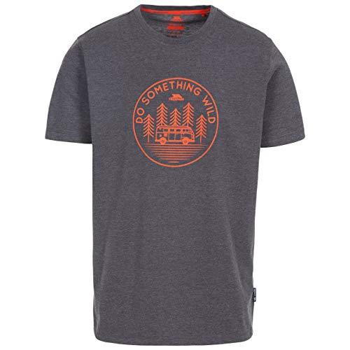 Trespass Bothesford T-Shirt à séchage Rapide pour Homme XL Gris foncé