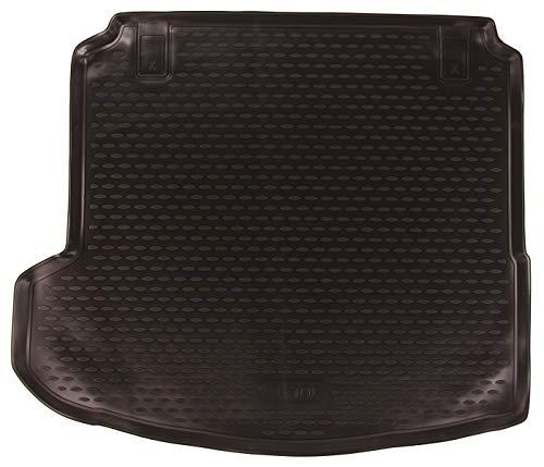 SIXTOL Auto Kofferraumschutz für den Renault Megane, 2016-> - Maßgeschneiderte antirutsch Kofferraumwanne für den sicheren Transport von Einkauf, Gepäck und Haustier