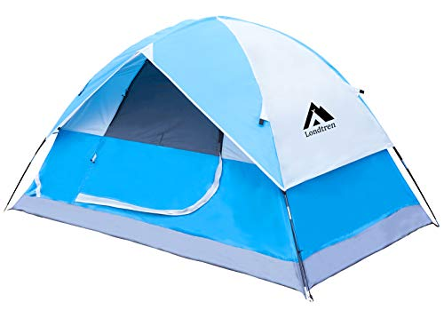 Tents for Camping 2 Person Tent Waterproof Tent Two Person Tent for Camping Backpack Tent Backyard Tent Backpack Tent 2 Man Tent Pup Tent Tent 2 Person Small Tents All Weather Outdoor Easy Blue
