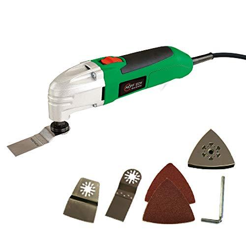 Höfftech multifunctioneel gereedschap 180 Watt - multitool - slijper - zaag - spatel - 230 V - inclusief accessoires