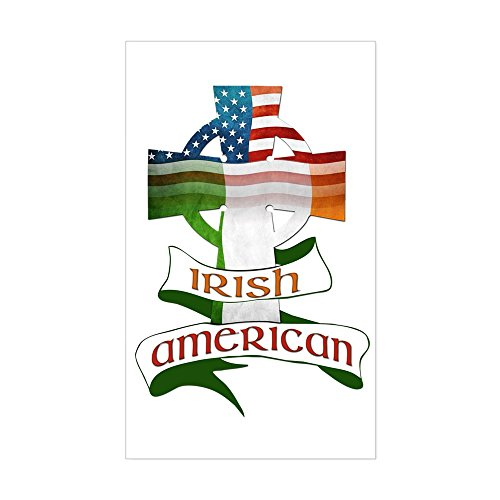 CNW Studio Irish American Celtic Cross Decal Vinyl Bumper Sticker 5'